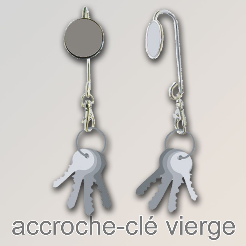 accroche-cle a personnaliser