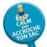 Accroche-sac Keep Calm